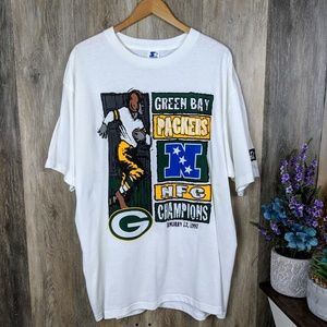 Vintage 1997 Packers NFC Champions Tee XL